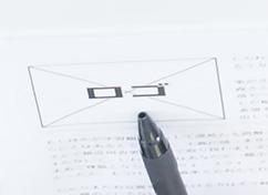 ワイヤーフレーム内のロゴの箇所