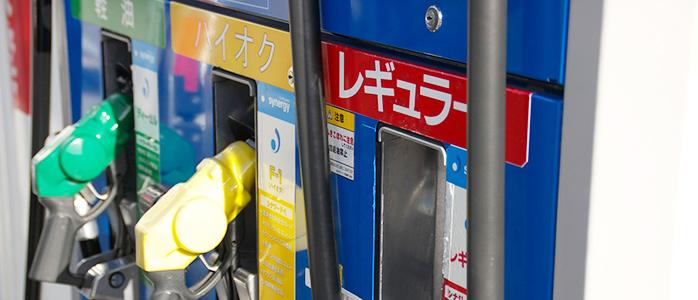 ガソリンスタンドの計量機