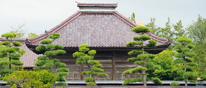 鶴岡市にある致道館の外観