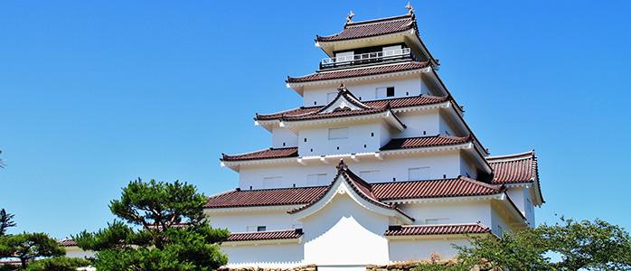 会津若松城の天守閣